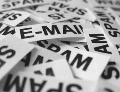 Dois milhões de spam por dia